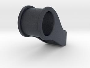Fork mount for handle bar lights ~ 28mm steer tube in Black Professional Plastic