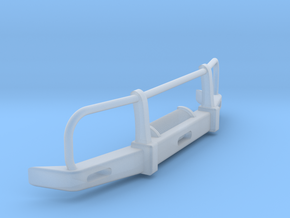 RC Toyota Hilux Bullbar 1:15 scale in Smooth Fine Detail Plastic