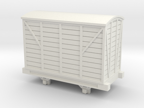 Bandai OO9 Scale Goods Van in White Natural Versatile Plastic