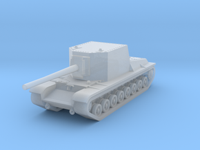 1/285 SU-100Y in Smooth Fine Detail Plastic: Small