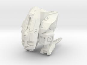 Leech Breaching Pod in White Natural Versatile Plastic