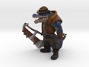 Outback Renekton (w/o base) in Natural Full Color Sandstone
