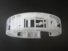 washitsu facades cuff in Smooth Fine Detail Plastic: Medium
