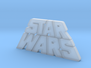 Star Wars Logo 1977 in Smooth Fine Detail Plastic