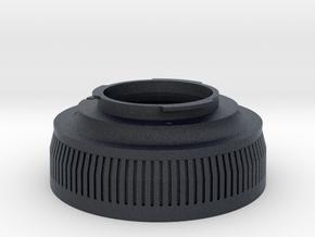 Zenza Bronica ETR To Pentax K-mount in Black Professional Plastic
