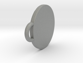 Pendant Shield in Gray Professional Plastic: Small