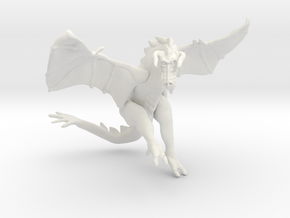 Omni Scale Space Dragon Ancient Male MGL in White Natural Versatile Plastic