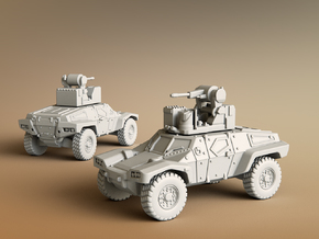 Panhard CRAB Scale: 1:285 in Smooth Fine Detail Plastic