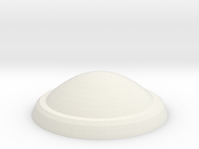 1:1000 Replacement LowerSensorDome in White Natural Versatile Plastic