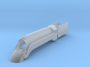 Fictional streamlined NWR #4 - Gresley A4/K4 in Smooth Fine Detail Plastic