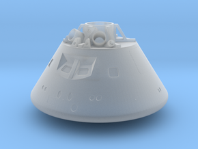 1/72 Orion Capsule in Smooth Fine Detail Plastic in Smooth Fine Detail Plastic
