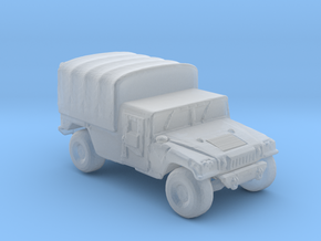M1038a1 Cargo 160  scale in Smooth Fine Detail Plastic