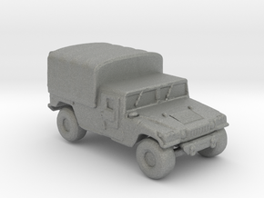 M1038a1 Cargo 160  scale in Gray PA12