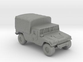 M1038a1 Cargo 160  scale in Gray Professional Plastic