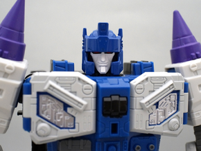POTP overlord smile faceplate for titansreturn in Smoothest Fine Detail Plastic