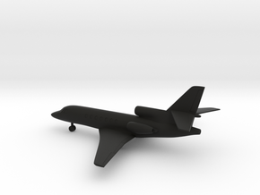 Dassault Falcon 50 in Black Natural Versatile Plastic: 1:200