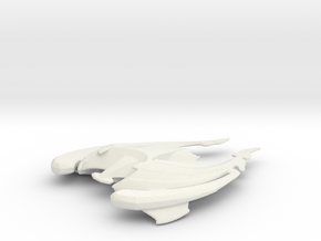 Sona Command Vessel in White Natural Versatile Plastic