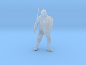 Knight Errant Standing in Smoothest Fine Detail Plastic: 1:64 - S
