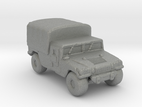 M1038a1 Cargo 285  scale in Gray Professional Plastic