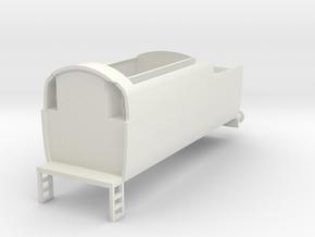 b-87-q1-loco-long-tender in White Natural Versatile Plastic
