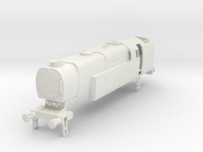 b-87-q1-loco-0-6-4T in White Natural Versatile Plastic