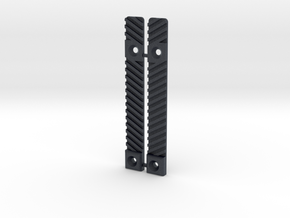 Airsoft SCAR Side Rail Delete in Black Professional Plastic