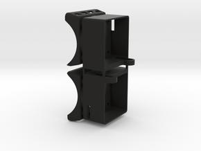 RSD Gizmo and TC7.2  Adjustable 30mm Fan Mount Shr in Black Natural Versatile Plastic