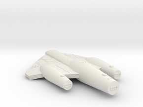 3125 Scale ISC Star Cruiser (CA) SRZ in White Natural Versatile Plastic