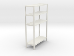1:18 shelf none adjustable in White Natural Versatile Plastic