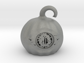 Eye of the Pumpkin  in Gray Professional Plastic
