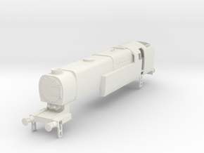 b-76-q1-loco-4-6-4T in White Natural Versatile Plastic