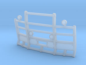 1/64th Herd or Road Train angled bumper in Smooth Fine Detail Plastic