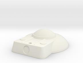 1:1000 Replacement Bridge_For_B-C_Deck in White Natural Versatile Plastic