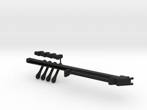 Sennebogen 718 telescope set 2/3 in Black Natural Versatile Plastic: 1:50