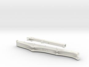 Sennebogen 718 boom set 1/3 in White Natural Versatile Plastic: 1:50