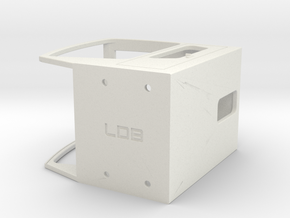Sennebogen Portcab in scale 1:15 in White Natural Versatile Plastic: 1:15