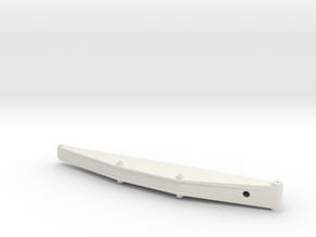 Sennebogen 835-D main boom 7.5m in White Natural Versatile Plastic: 1:50