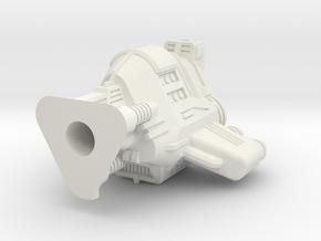 Xel Dreadnough Hull in White Natural Versatile Plastic