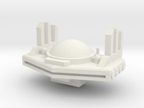 Xel Dreadnough Bridge in White Natural Versatile Plastic