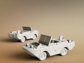 Ford GPA 1942 Amphibious Jeep Scale: 1:100 in Smooth Fine Detail Plastic