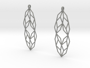Lsys Earrings in Gray Professional Plastic