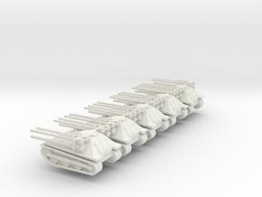 1/87 Ontos 5 off in White Natural Versatile Plastic