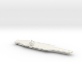 USS CVN-65 Enterprise (1962), 1/1250 in White Natural Versatile Plastic