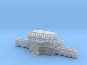 1/96 USN MK38 Gun Director Mark 8 in Smooth Fine Detail Plastic