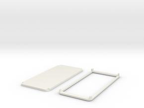 PAPERPROTO-Galaxy S8 in White Natural Versatile Plastic