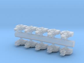 10 Aggressor Interceptors in Smooth Fine Detail Plastic