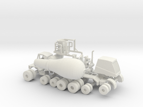 1/64 OshKosh Cement Mixer in White Natural Versatile Plastic