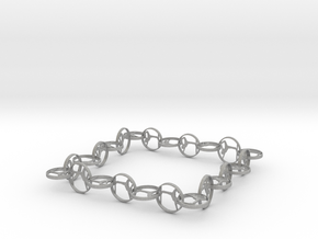 Yoga jewelry bracelet in Aluminum