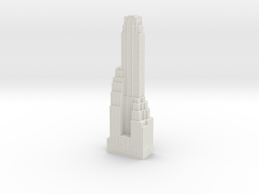 500 Fifth Avenue in White Natural Versatile Plastic