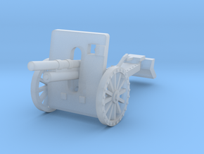 100mm howitzer wz. 1914/19 early 1:144 in Smooth Fine Detail Plastic